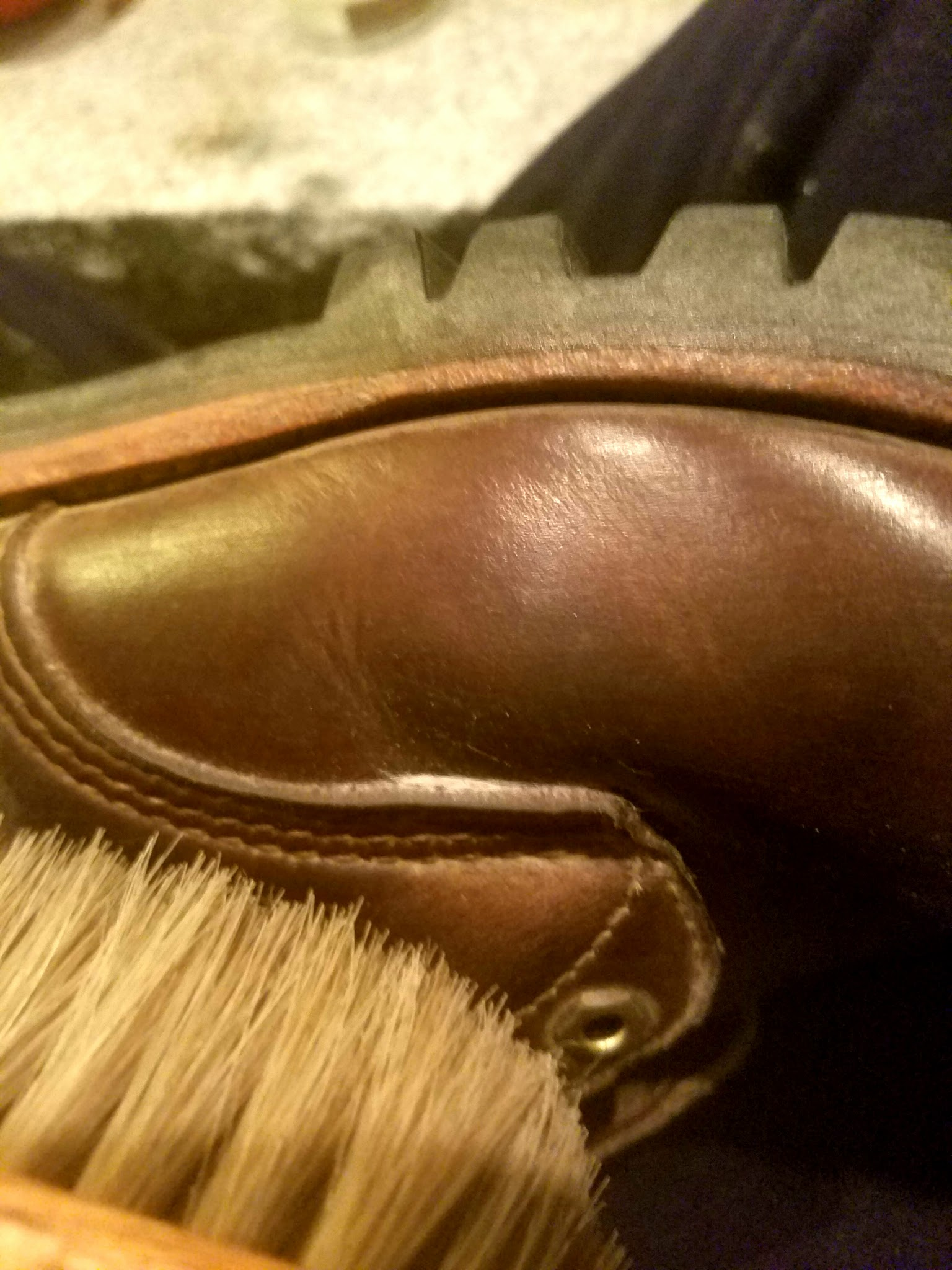 Picture of Cleaning and Polishing Leather Shoes