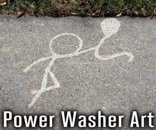 Power Washer Art