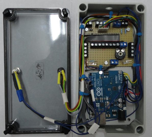 Picture of Assembly of Control Box