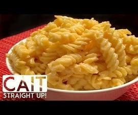 Homemade Macaroni and Cheese Recipe With Homemade Cheese Sauce
