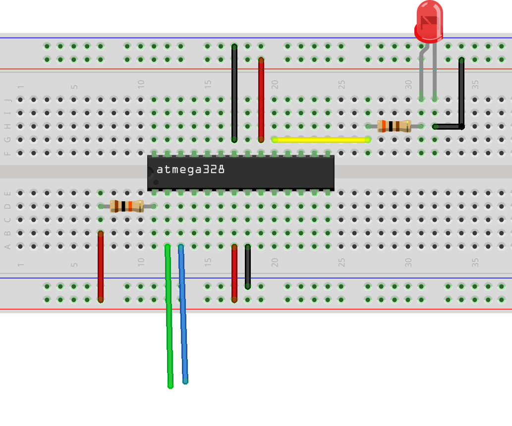 Making The Simplest Bare Breadboard Arduino Without Crystal 6 Steps Choosing A Electronics Kit For Kids