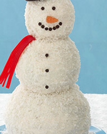 Picture of Snowman Cake