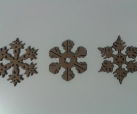 Snow Flakes (Christmas Decorations)