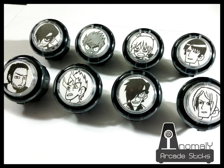 Picture of Custom Arcadestick/Fightstick Buttons