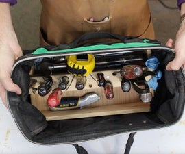 DIY Toolbag Organizer