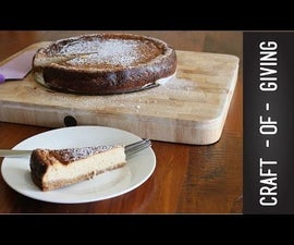 Easy Lactose Free Lime Baked Cheesecake | Craft of Giving
