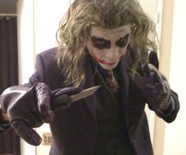 DIY Joker Makeup (The Dark Knight)