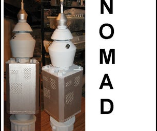 NOMAD From Original Star Trek Series With Light and Sound Effects