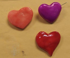 InstaMorph HEART pin