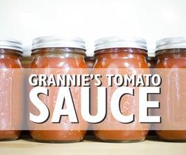 Grannie's Tomato 'Gravy'