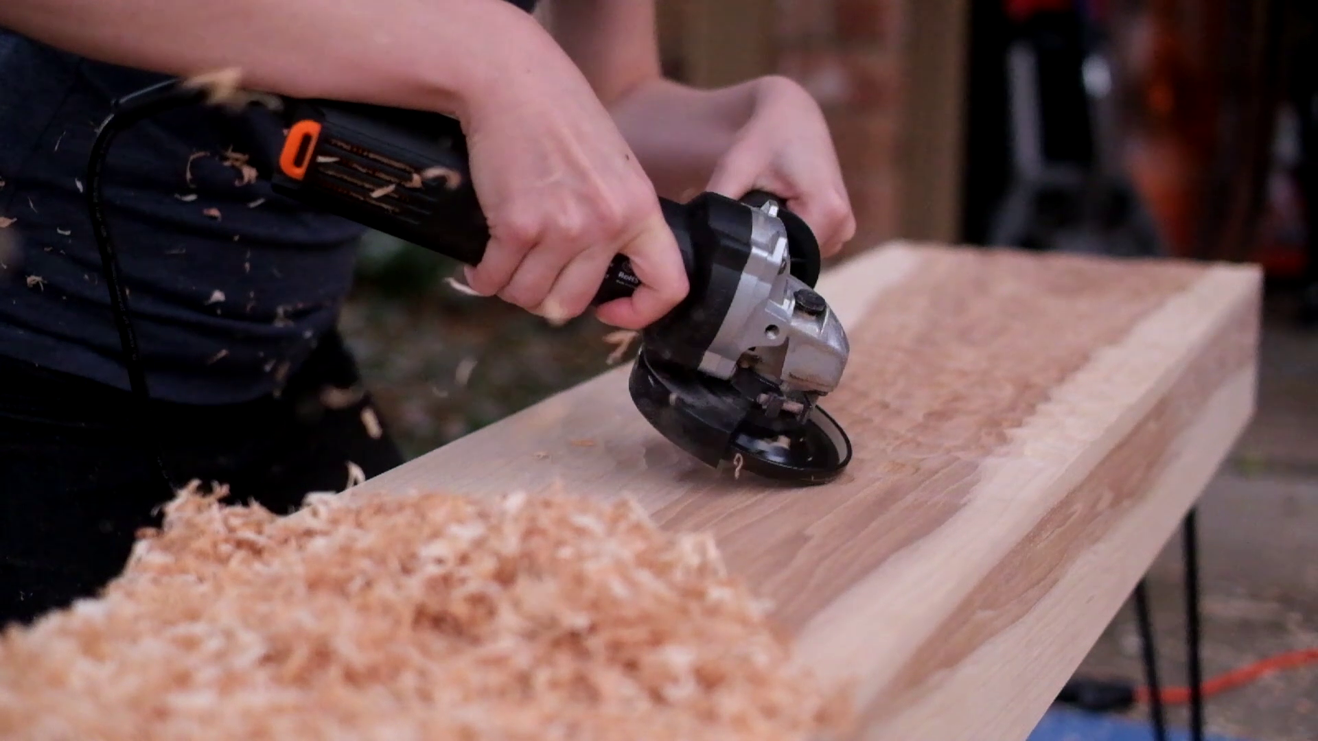 Picture of Power Carving!