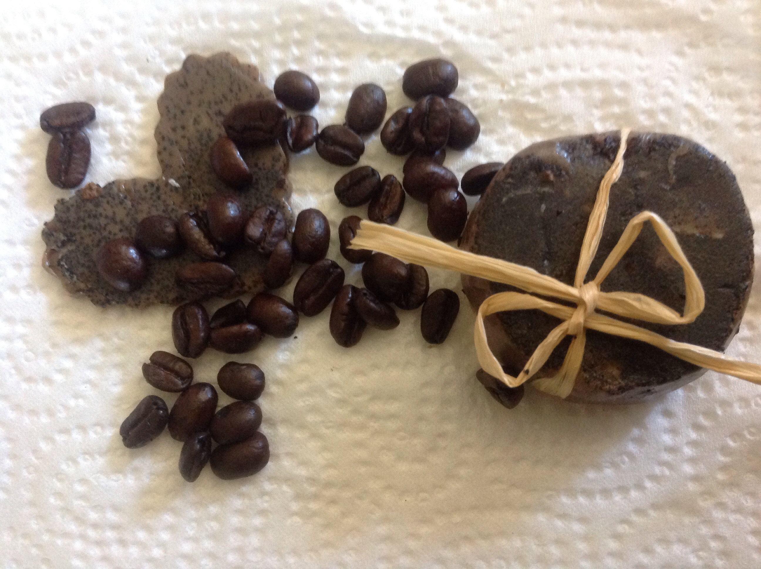 Picture of DIY Coffee Soap for Stretch Marks