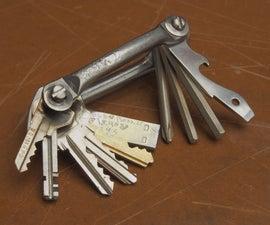 Multi key + Bike Tools + USB Drive + Bottle opener + Screwdriver (~$15 ~1hr)