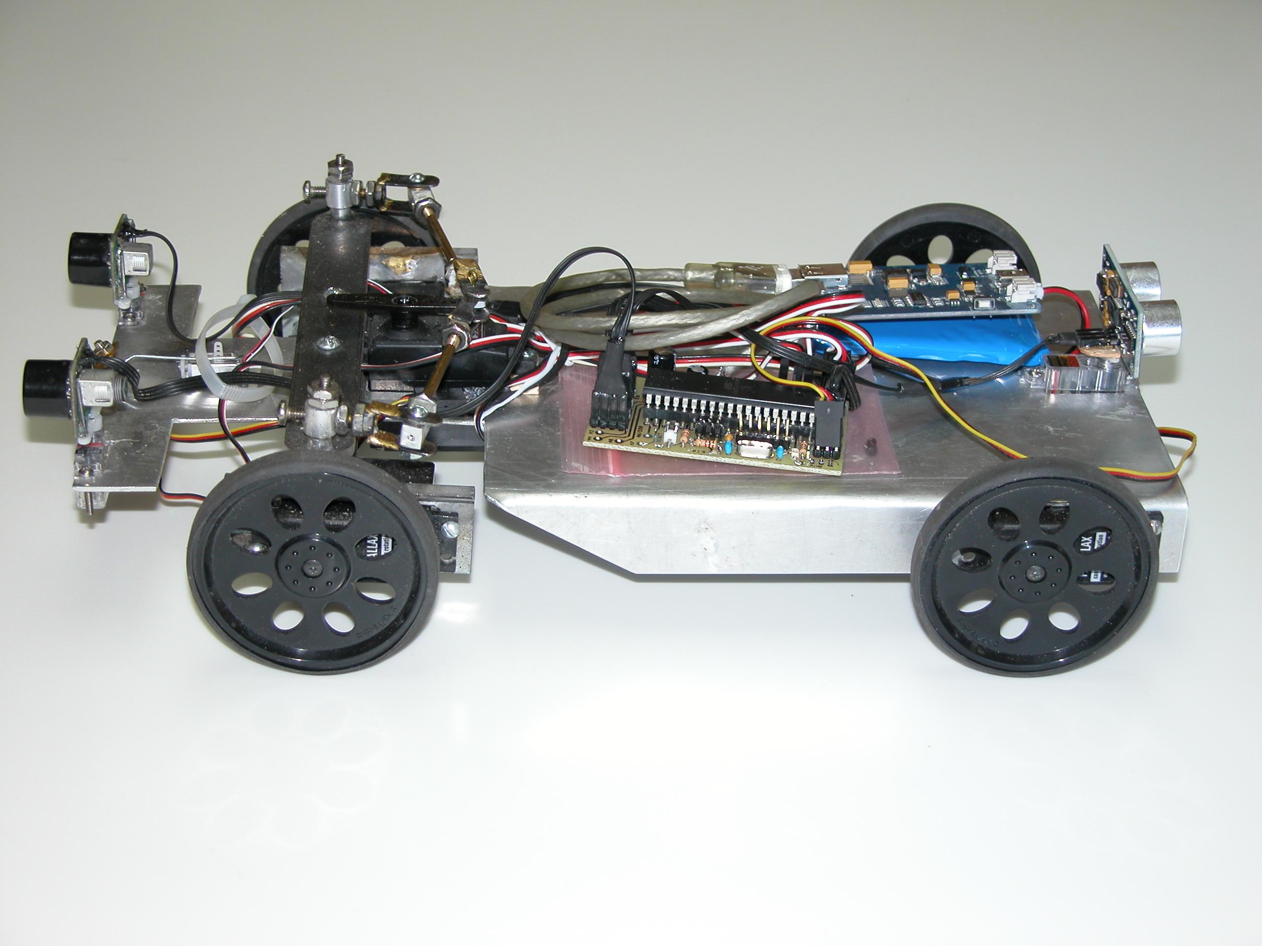 Picture of Autonomous Solar Robot Stage 1