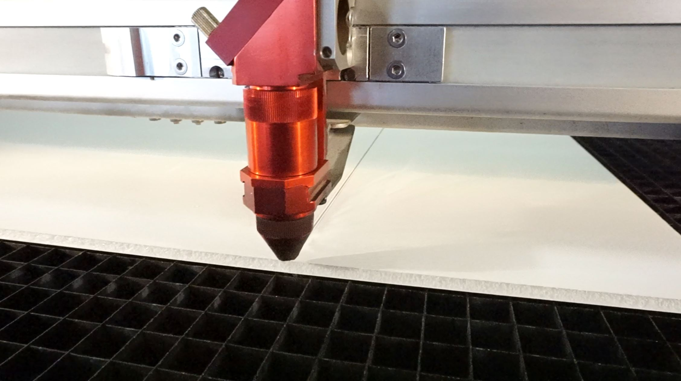 Picture of Cutting the Foam Backing
