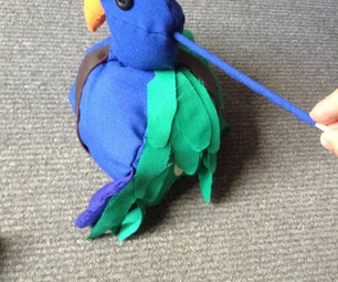 Pirate Parrot Puppet