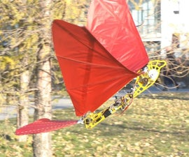 Opensource Ornithopter Prototype. Arduino Powered and Remote Controlled.