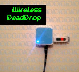 Wireless DeadDrop