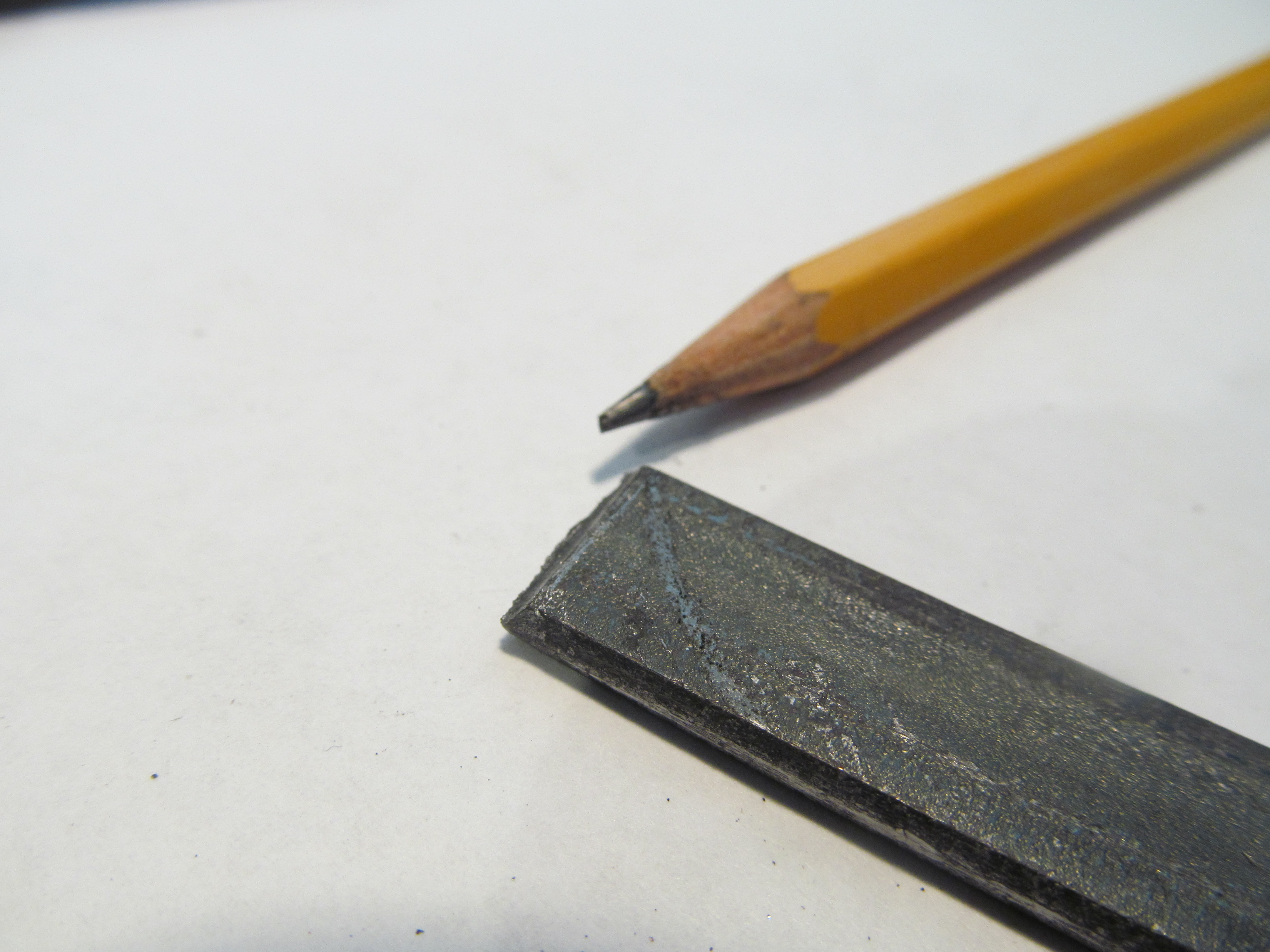 Picture of Cutting the Blade Length