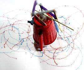Mechanical Art Bots: Four-Bar Linkage Mechanism