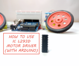 How to Use the L293D Motor Driver (With Arduino).