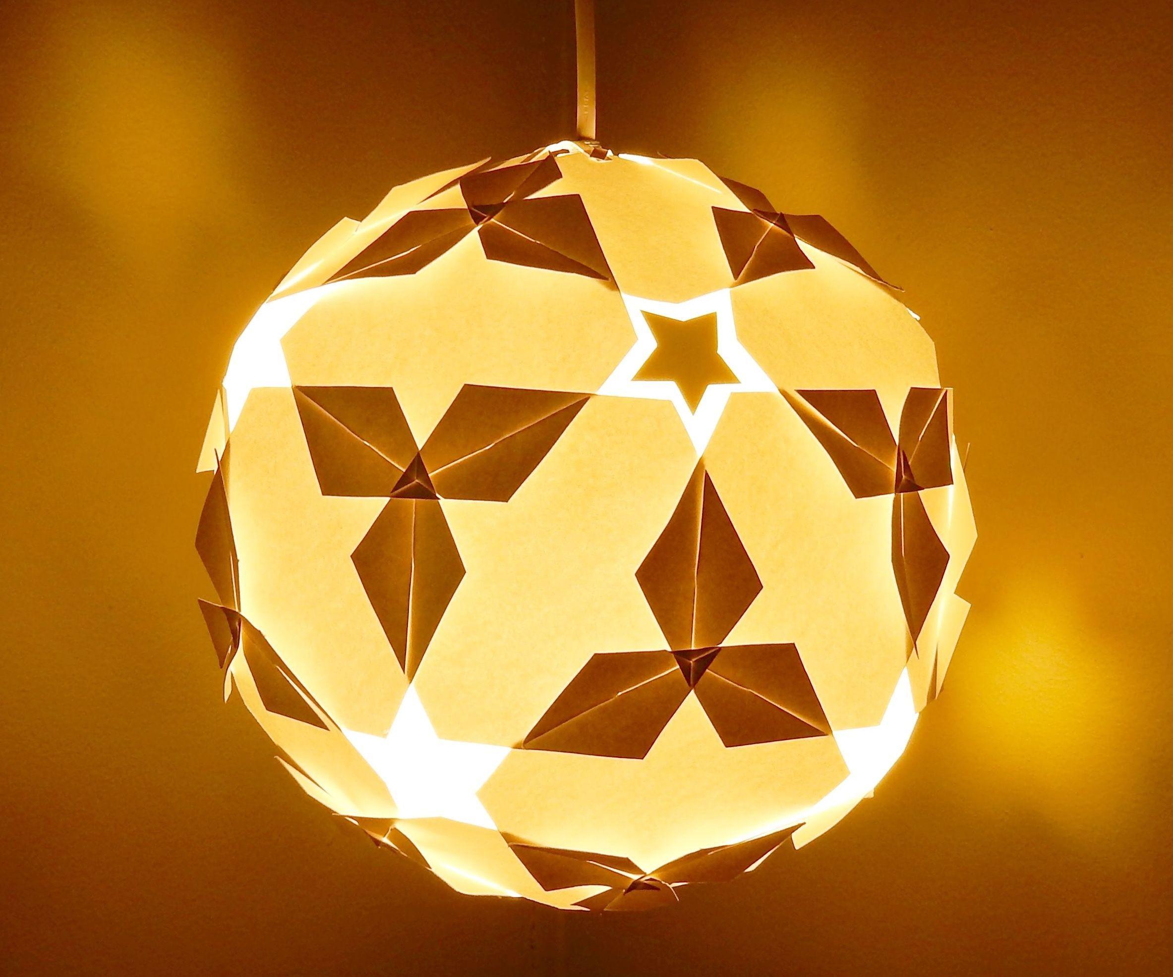 DIY Lamplantern star Ball