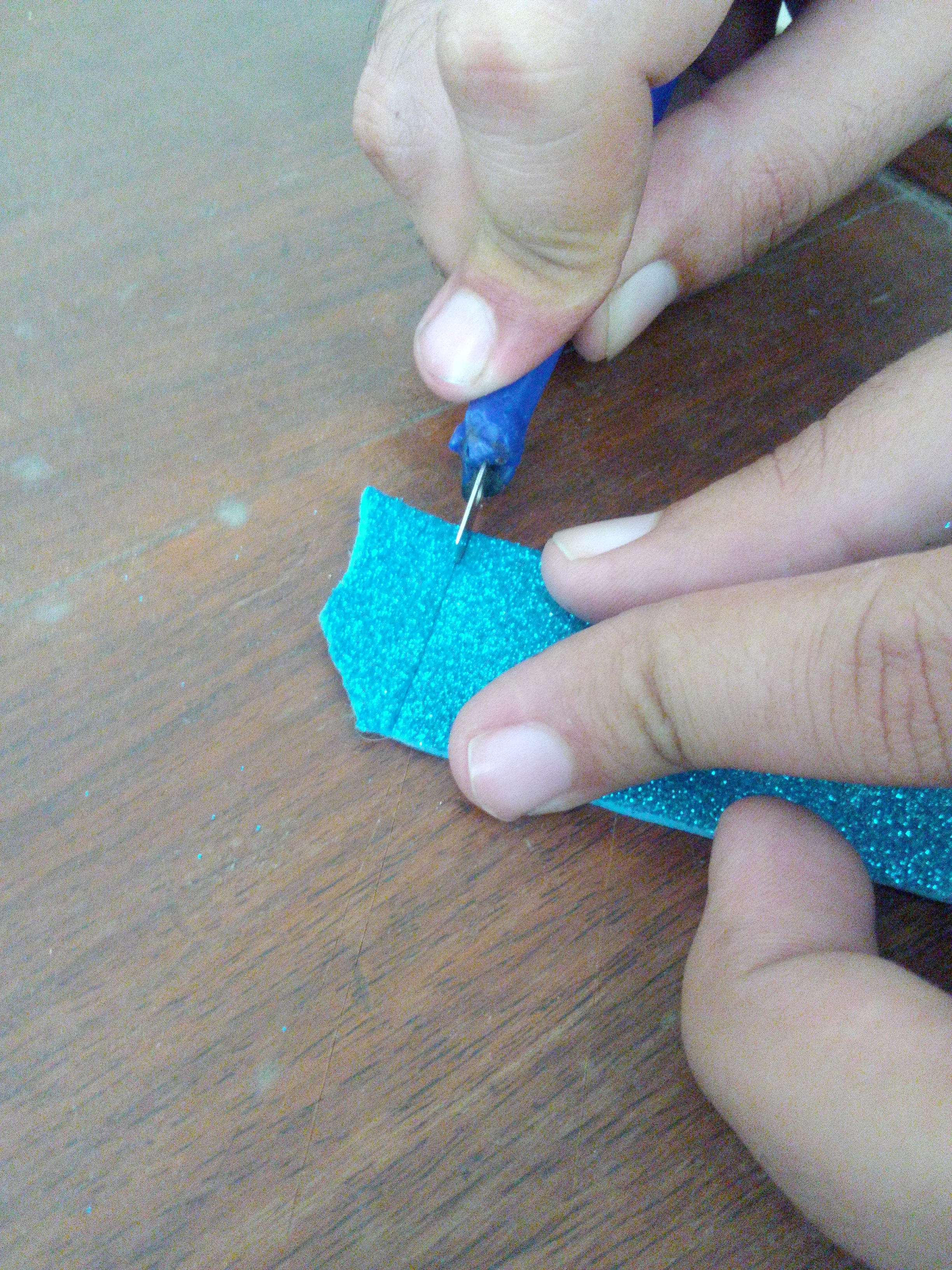 Picture of Step: 5 Hands on Using the Craft Knife Made From Trash