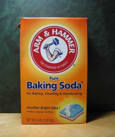 Picture of Cover With Baking Soda