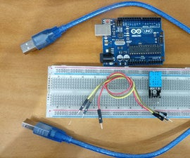 Set Up a DHT11 Temperature and Humidity Sensor With Arduino Uno