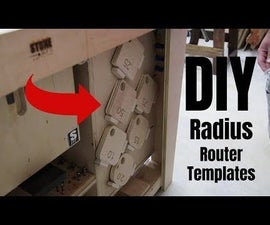 DIY Radius Router Templates