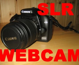 Use Your Canon EOS 1000D As Webcam! *UPDATED*
