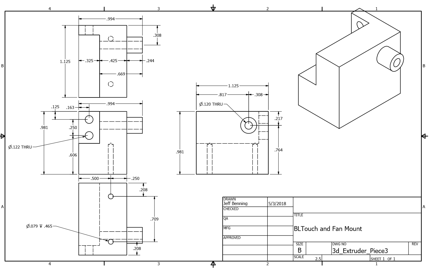 Picture of Print the Other Components
