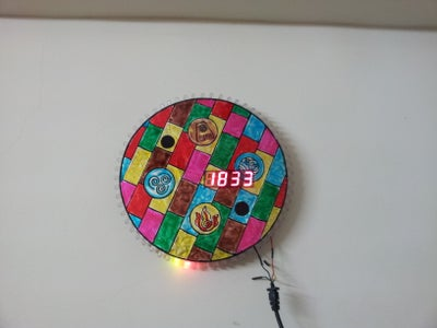 Arduino Digital Clock (With Charlieplexing LEDs, 7 Segment Displays)
