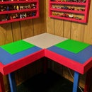 Corner Lego Table