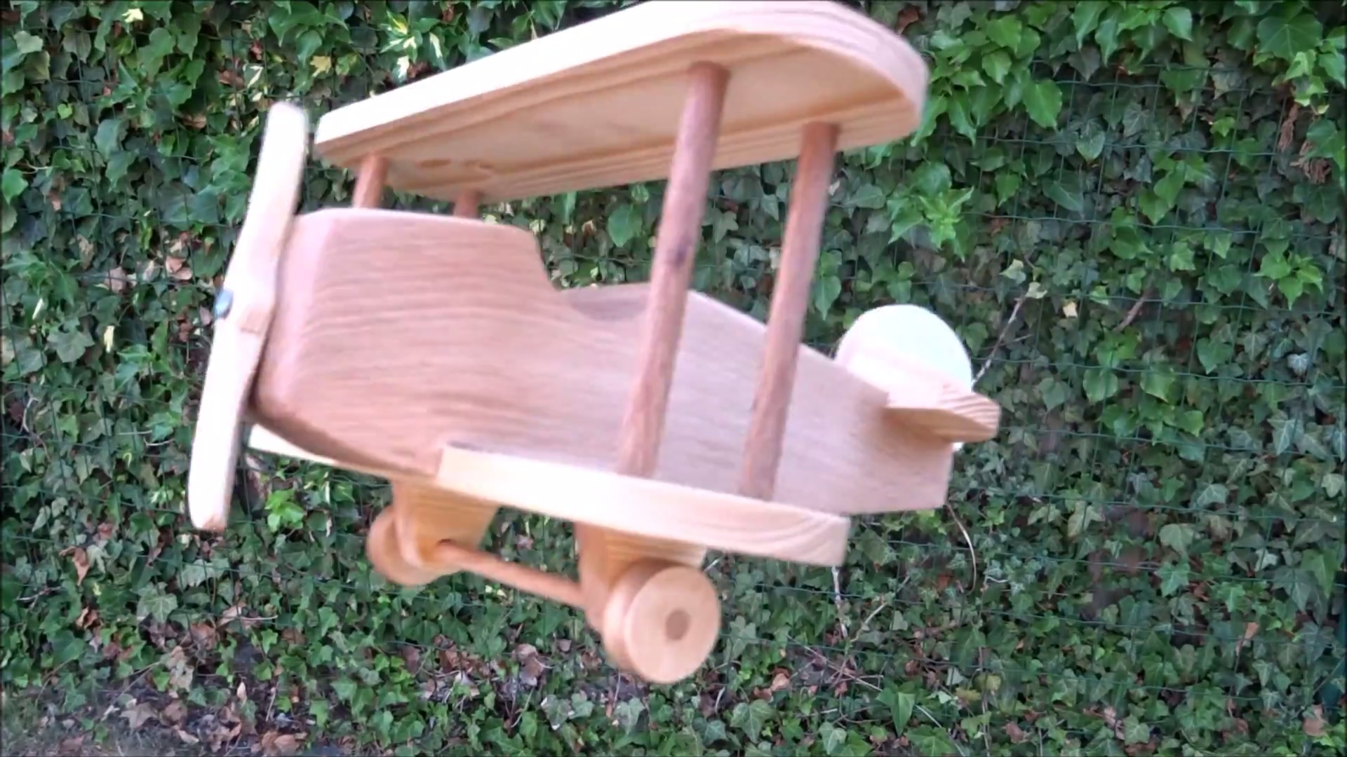 Picture of Wooden Toy Biplane