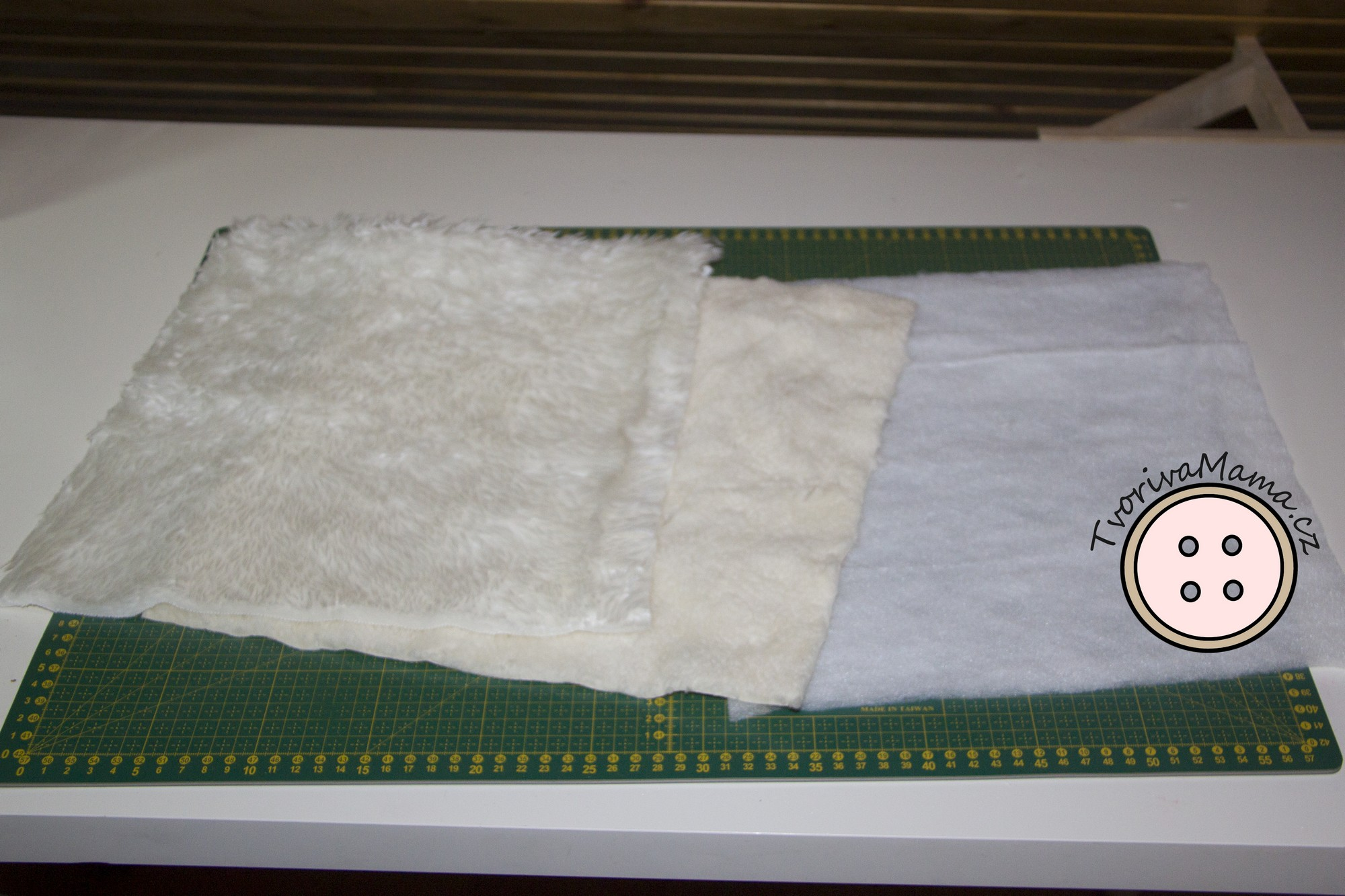 Picture of Material Needed for the Hand Muff