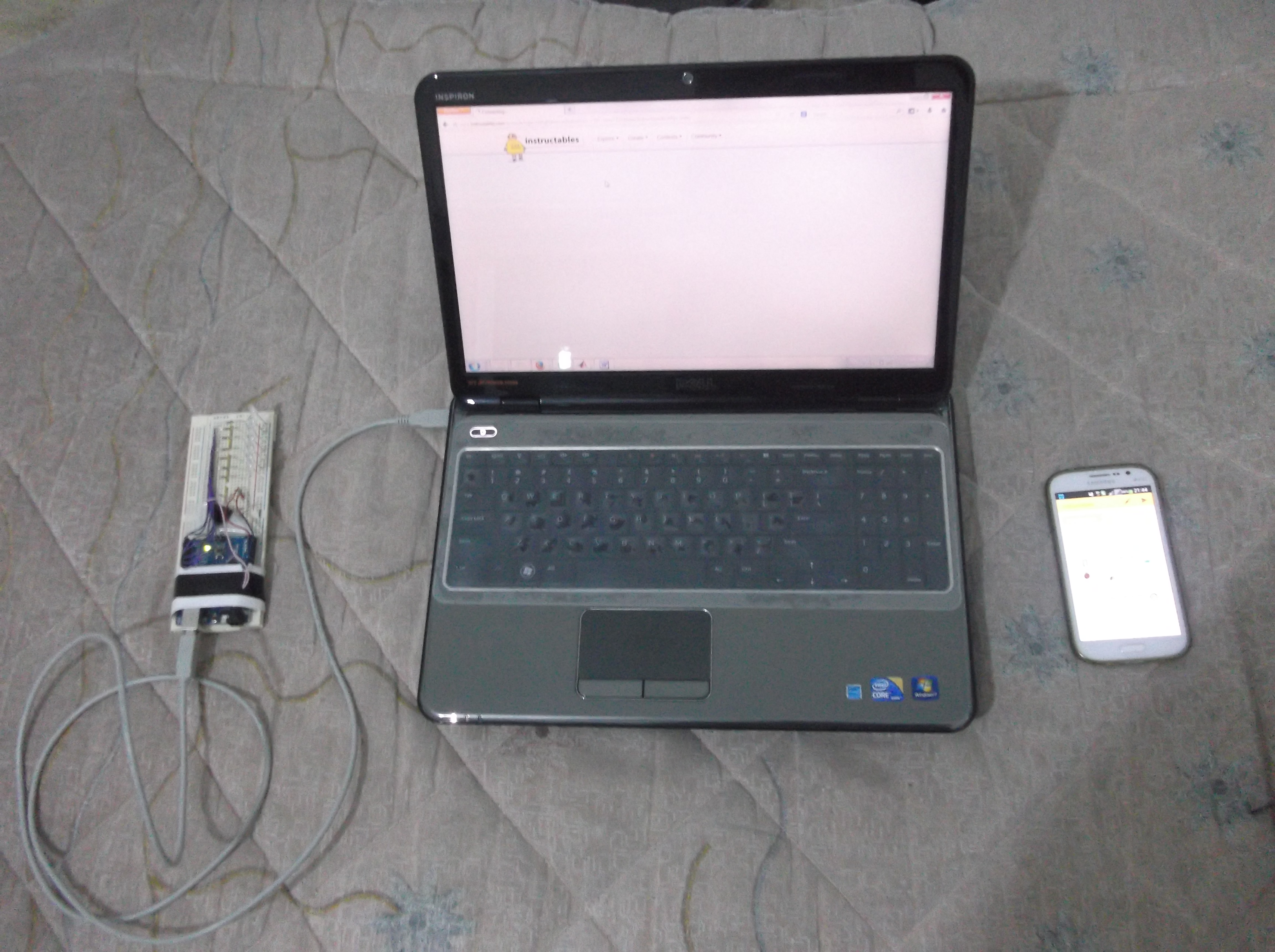 Picture of Android Mobile With Arduino Example