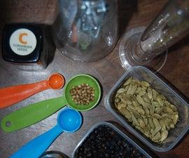 Make your Own Gin with Foraged Botanicals (compound method, not distillation)