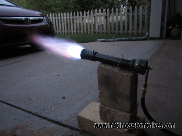 How to Build a Gas Forge Burner