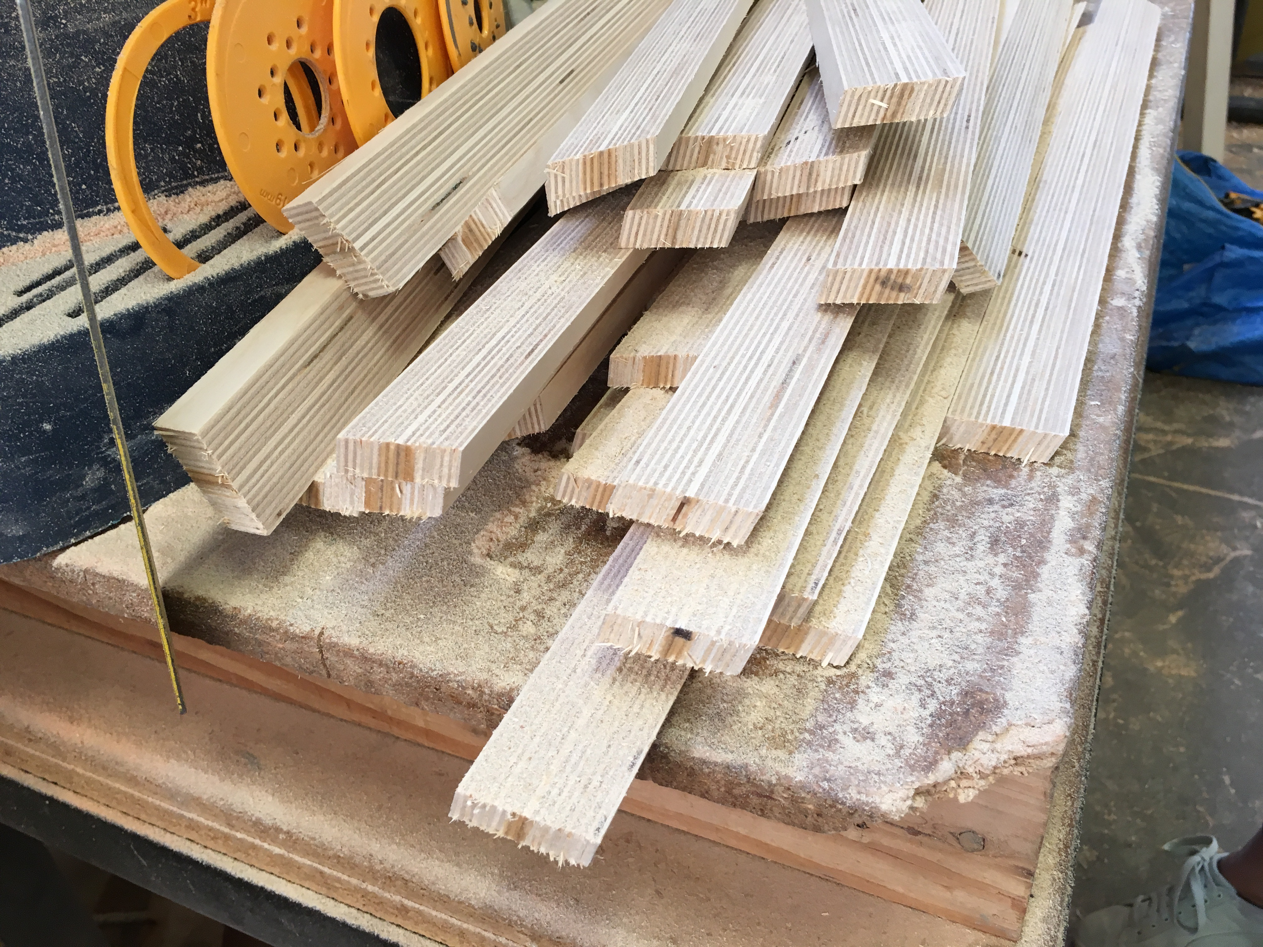 Picture of Wood Preparation and Bevel Cut