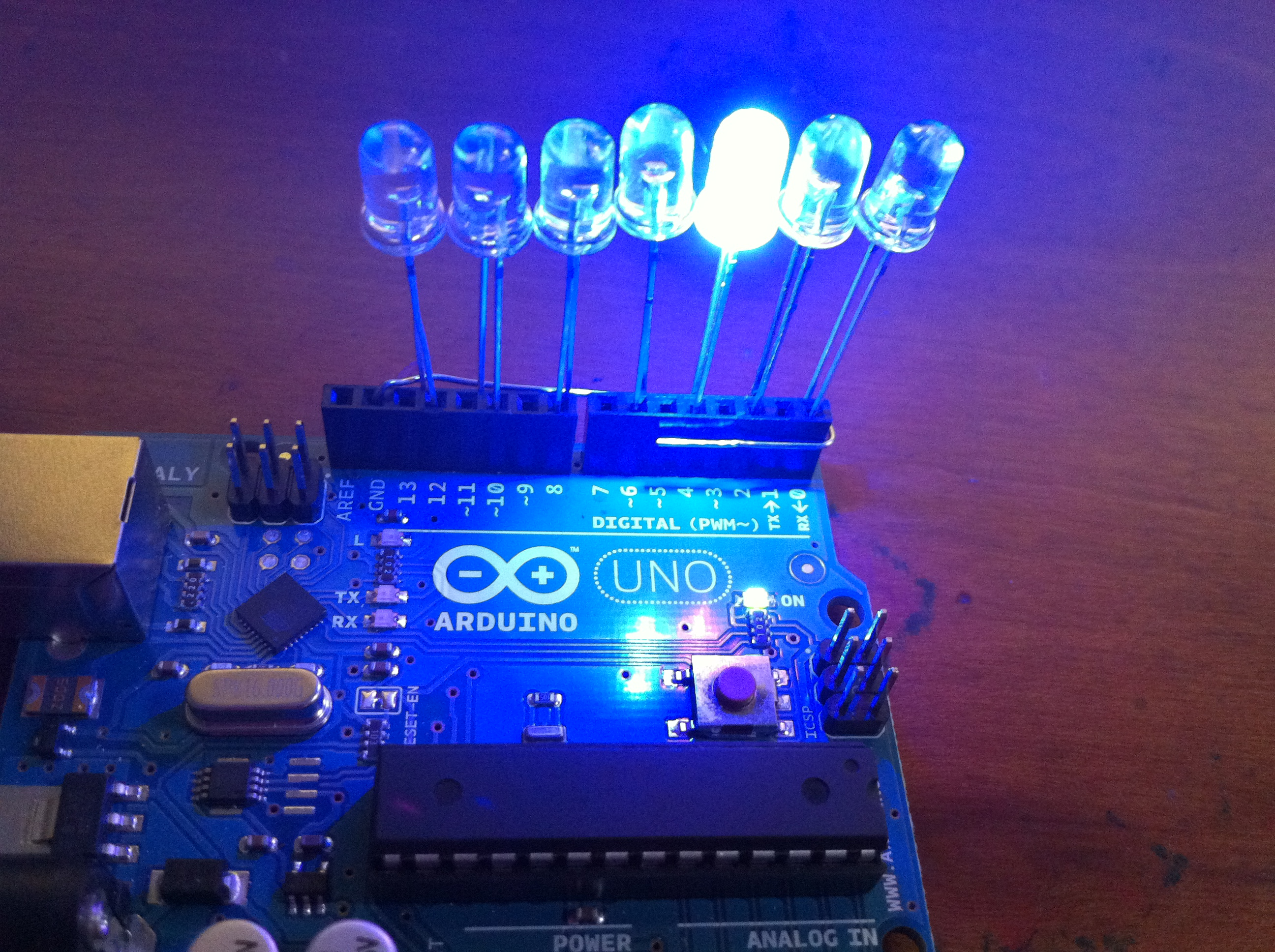 Picture of Dirt Cheap Arduino LED Light Bar!