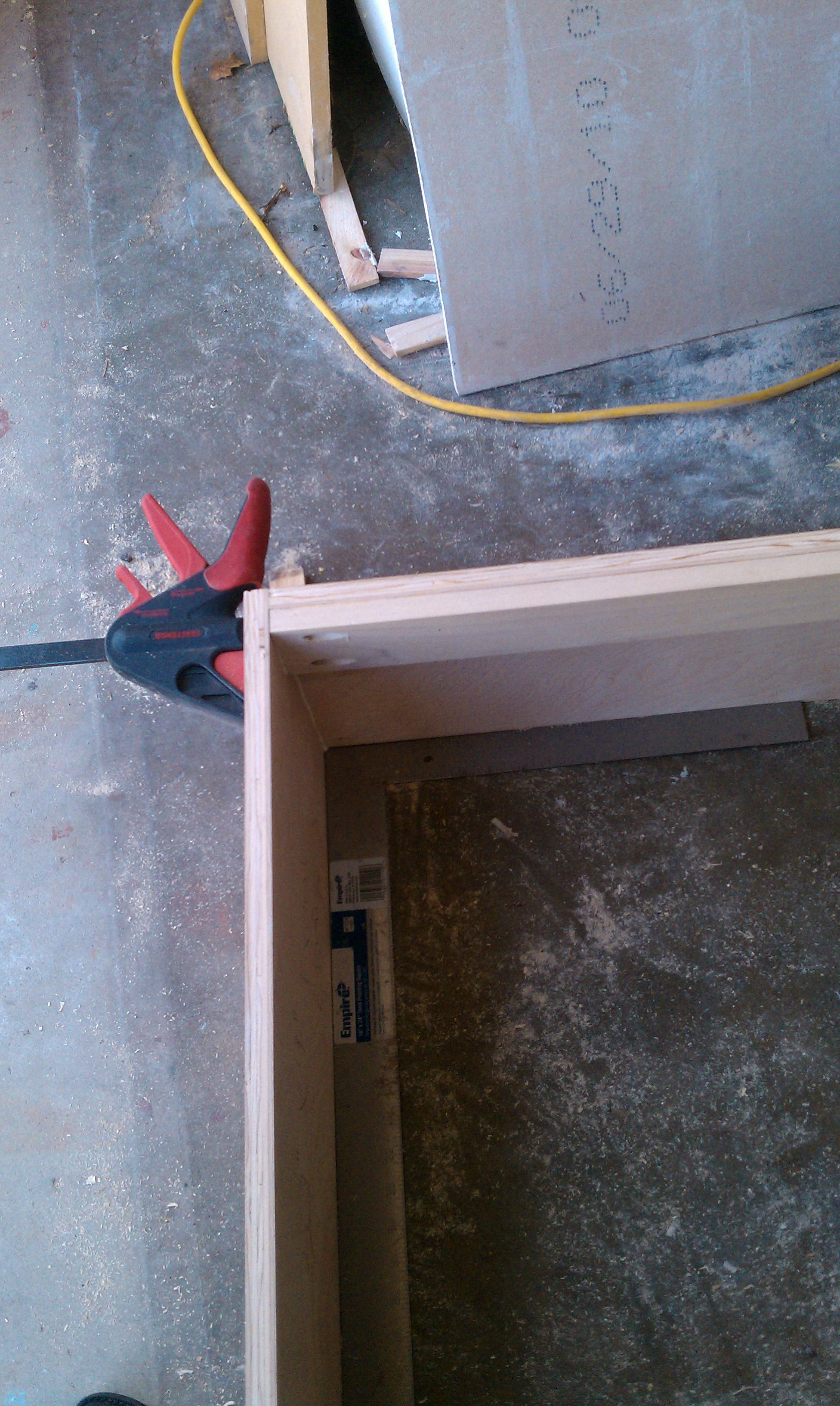 Picture of Build Deck of Chaise