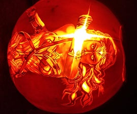 How to Carve: Wonder Woman