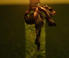 Coke Bottle Oil Lamp