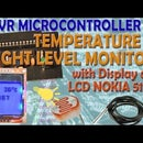Temperature and Light Level Monitor With Displaying on LCD NOKIA 5110