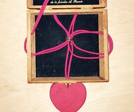 Lovers Ring Puzzle Box