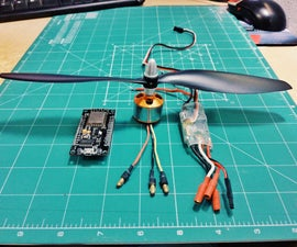 Speed Control for Brushless Motors With an ESP8266
