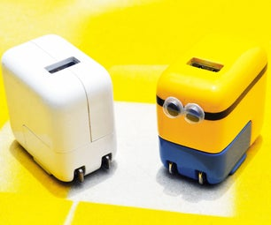 Minion iPhone Charger
