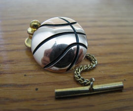 Basketball Tie Tack