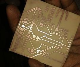 PCB Etching Using Laser Printer (Toner Transfer Method)